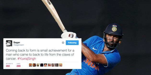 Yuvraj Singh Just Scored A Century After 6 Years, And Twitter Can't Stop