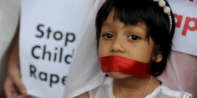 DHAKA, BANGLADESH – NOVENBER 04: Bangladeshi women and social activists gathered in a protest at Dhaka against the recent child abuse in Bangladesh. (Image used for representational purposes only)