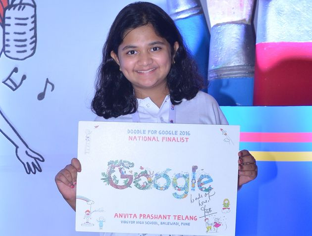 This 11-Year-Old Made The Google Doodle You're Seeing