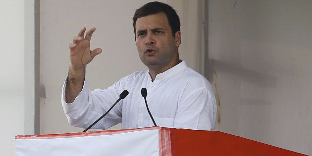 'Demonetisation Is A Fire Bomb On Common Man', Rahul Gandhi Criticises Modi In