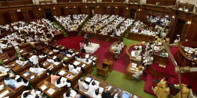 Uproar In UP Assembly, BJP Demands Azam Khan's