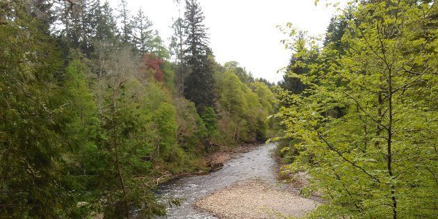River Findhorn, Randolph's Leap, Moray,