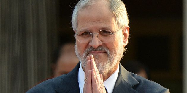 Lt. Governor Najeeb Jung during the felicitation of Battle Casualties, Gallantry Awardees and Distinguished...