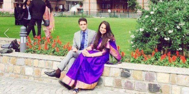 UPSC Topper Tina Dabi To Marry 2nd Rank Holder Athar Aamir-ul-Shafi