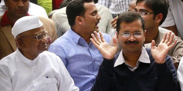 Walk The Talk On Party Funding, Anna Hazare Tells Arvind