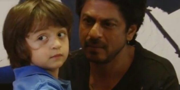 This Video Of AbRam Having A Super Mature Conversation With Shah Rukh Khan Is Too Cute To