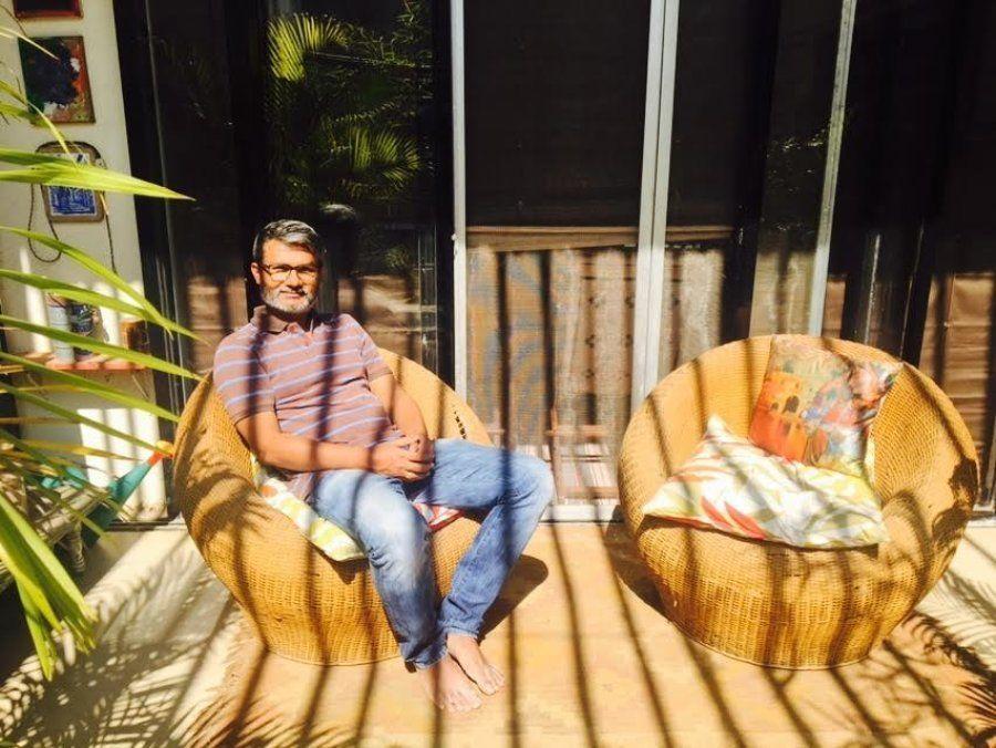 Nitesh Tiwari at his residence in Chembur.