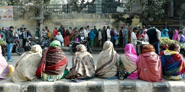 Nearly 50 Days On, People Are Still Feeling The Pain Of Demonetisation: Huffpost-BW-CVoter