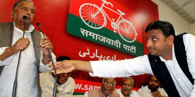 Akhilesh Yadav Has No Choice But To Rebel Against His