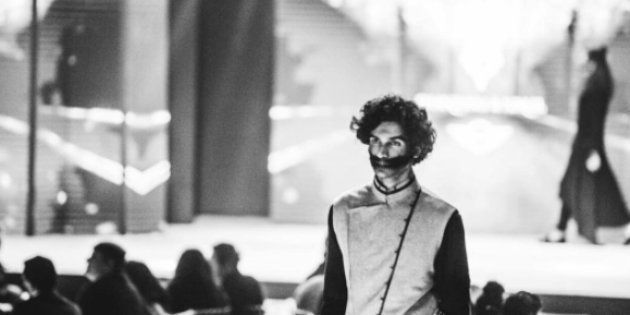 The designers, who wereinspired by the tribesmen of the valley, thought that pellet injuries would be the right way to showcase it.