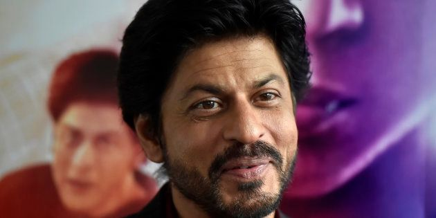 File photo of Bollywood actor Shah Rukh Khan speaks during an