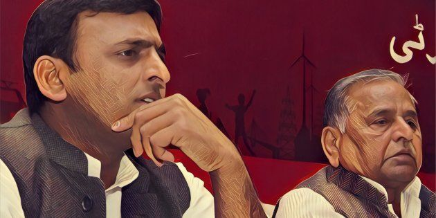 9 Possible Options Before Akhilesh Right Now In His 'War Of List' With Father Mulayam Singh