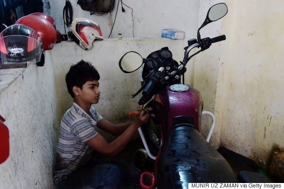 Bangladeshi Kids Are Working 64 Hours A Week To Make Your