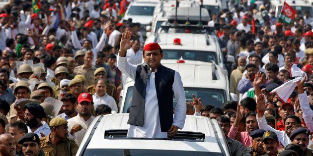 Akhilesh Yadav, Chief Minister of the northern state of Uttar Pradesh and the son of Samajwadi Party...