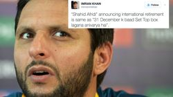 Cricketer Shahid Afridi Announces Retirement Yet Again And Twitter Is In No Mood To Spare