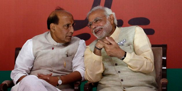 UP Only Wants 'Mangal' And Not 'Dangal', Says Rajnath