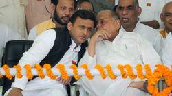 Akhilesh Yadav Meets Mulayam Singh Yadav Amid Speculations Of A
