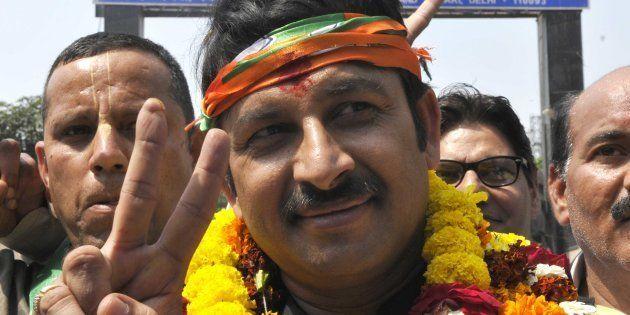Watch: BJP Delhi Chief Manoj Tiwari Mocking People Queuing Up Before