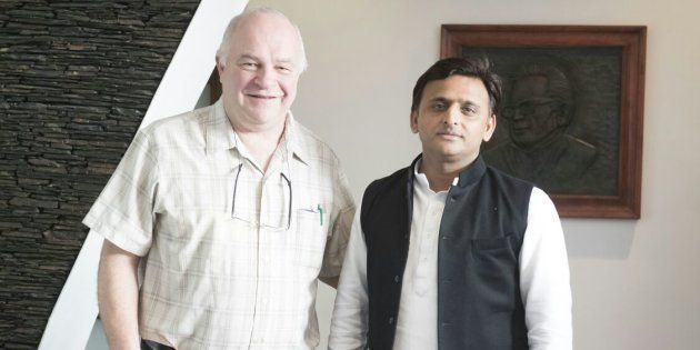 The Inside Story Of How A Harvard Professor Is Helping Akhilesh Yadav Win