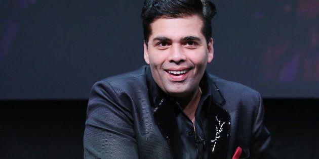 Karan Johar speaks during the 2016 Toronto International Film