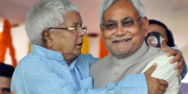 RJD Slams Nitish Kumar For Seating Lalu In The Audience During An