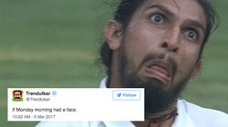 Ishant Sharma's On-Field Antics Has Twitterati In