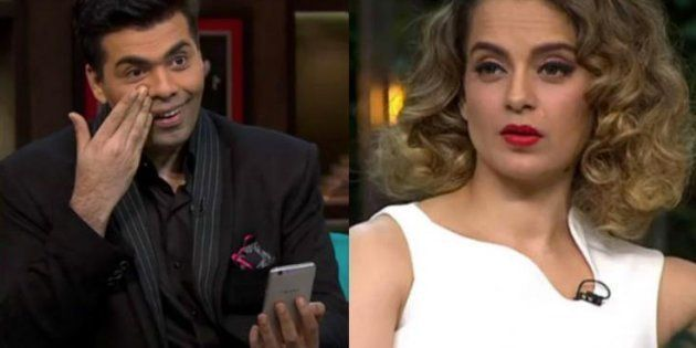 WATCH: Karan Johar Is Really, Seriously Pissed With Kangana's Nepotism