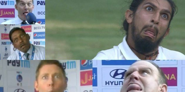 Watch: Brett Lee, Michael Clarke, Ravi Shastri, Matthew Hayden Take The 'Ishant Sharma Face