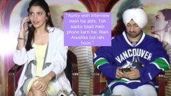 Anushka Sharma Interrupted A Press Con To Receive A Call From A Reporter's