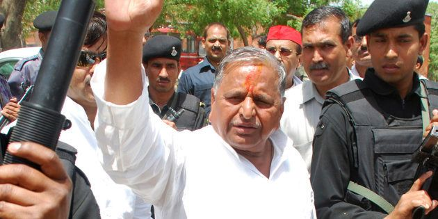 Mulayam Singh Yadav Writes To RS Chairman Hamid Ansari Informing Him Of Ramgopal Yadav's