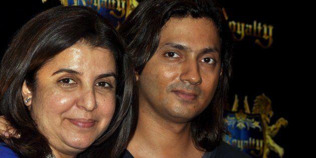 File photo of filmmaker and choreographer Farah Khan with husband Shirish