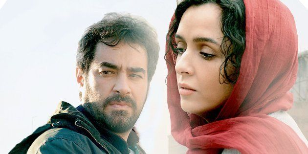Shahab Hosseini and Taraneh Alidoosti in a still from Asghar Farhadi's 'The Salesman'
