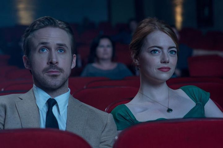 Ryan Gosling and Emma Stone in 'La La Land' which was screened at the MAMI Film Club, more than a month before its official release.