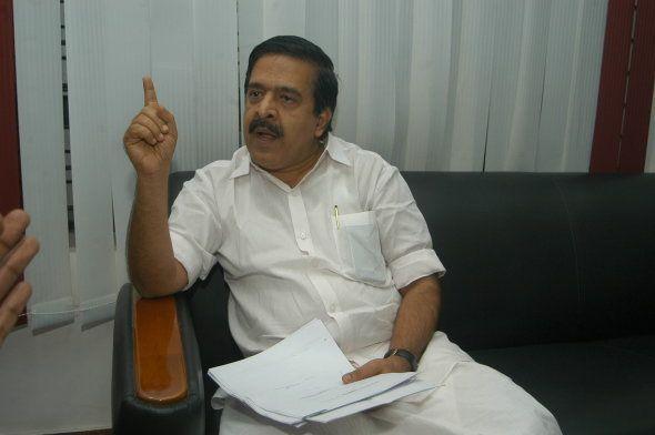 Ramesh Chennithala, President of the Kerala Pradesh Congress Committee