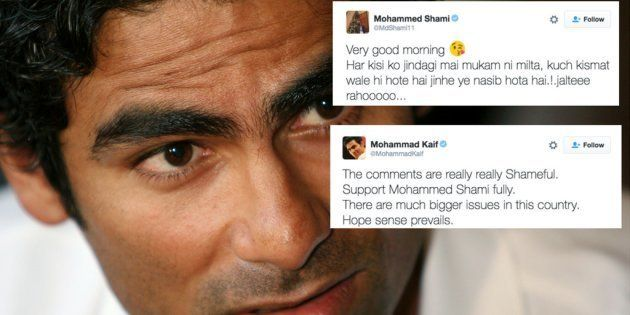 Here's What Mohammad Kaif Had To Say To Trolls Bullying Mohammed Shami And His
