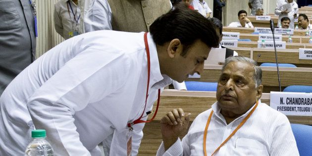 Akhilesh Yadav Attempted To Wipe Out The Muslim Community In UP, Alleges Father Mulayam