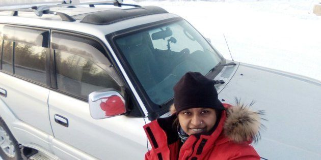 This Woman Just Became The First Indian To Drive To The Coldest Inhabited Place On