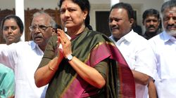 Sasikala's Husband Natarajan Jostles His Way To Centrestage By Taking On The