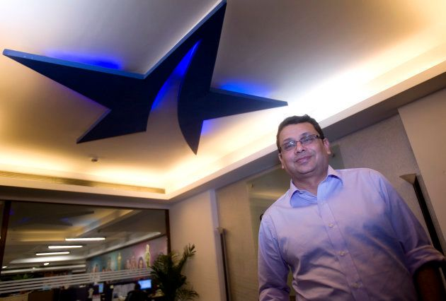 Uday Shankar of Star India CEO at Star TV office. (Photo by Manoj Patil/Hindustan Times via Getty Images)