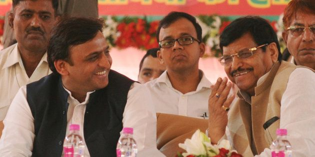 Akhilesh Yadav Includes Uncle Shivpal In The First List Of Candidates For UP