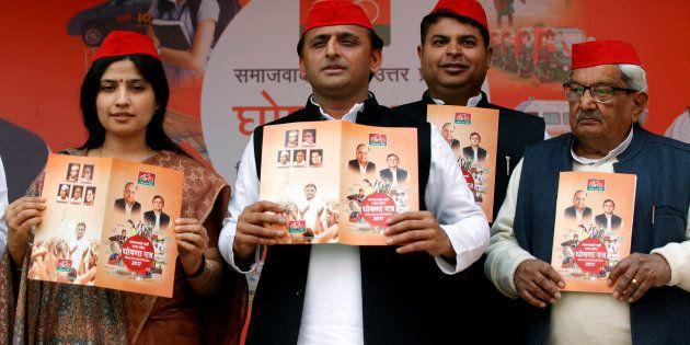 Akhilesh Yadav Takes A Dig At BSP's 'Patthar Wali Sarkar', Mocks BJP's 'Achhe