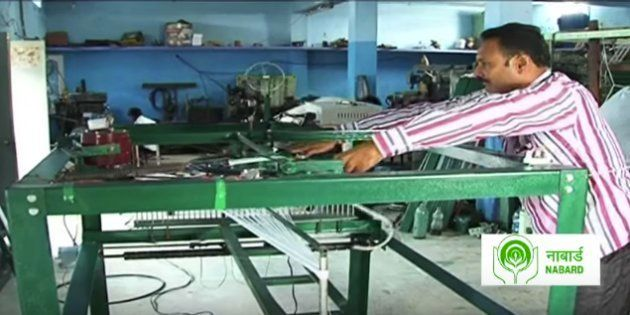 Moved By His Mother's Plight This Telangana School Dropout Invented A Weaving