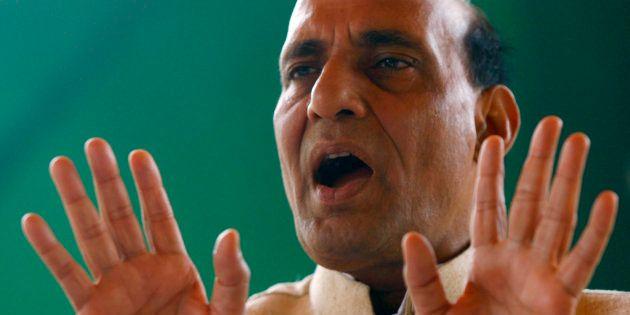 Rajnath Singh Accuses Pakistan Of Supplying Drugs To Punjab, Warns Of Dire