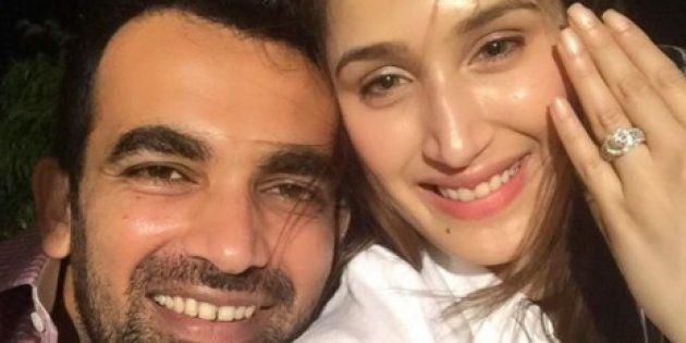 Zaheer Khan Gets Engaged To Sagarika Ghatge, Announces News On