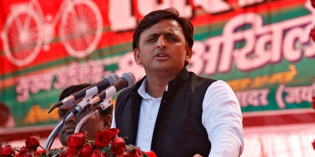 Akhilesh Yadav Hits Campaign Trail In Uttar Pradesh, Lashes Out At Modi Govt,