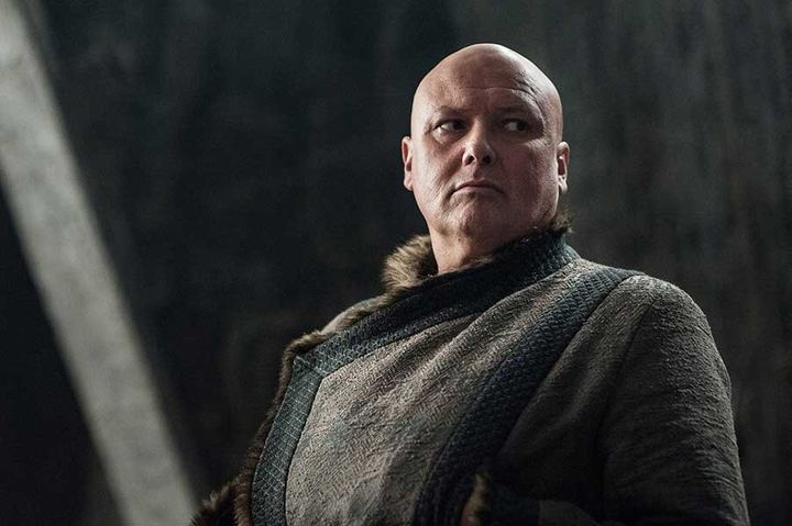 Lord Varys in warmer clothes
