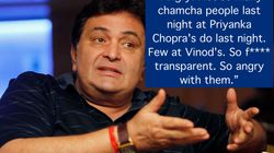 Rishi Kapoor Unleashed His Wrath At Bollywood For Skipping Vinod Khanna's Funeral For Priyanka Chopra's