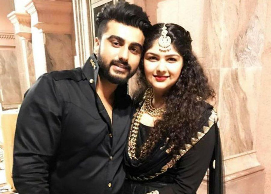 Arjun with his sister,