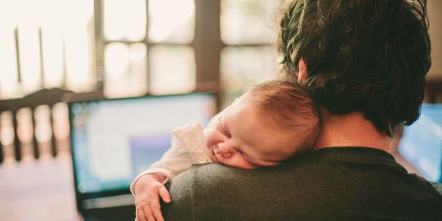 I Think I'm Lucky To Be A Stay-At-Home Dad, But Society