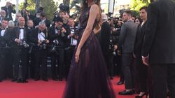 JUST IN: Deepika Padukone Makes A Stunning Debut At The Cannes Red